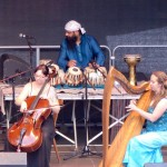 Homebound cello tabla harp mosbach 2015